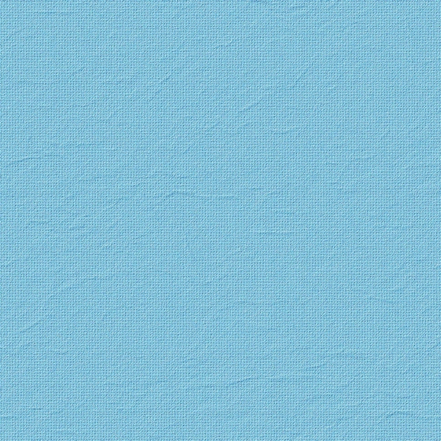 Seamless light blue wrinkled fabric texture