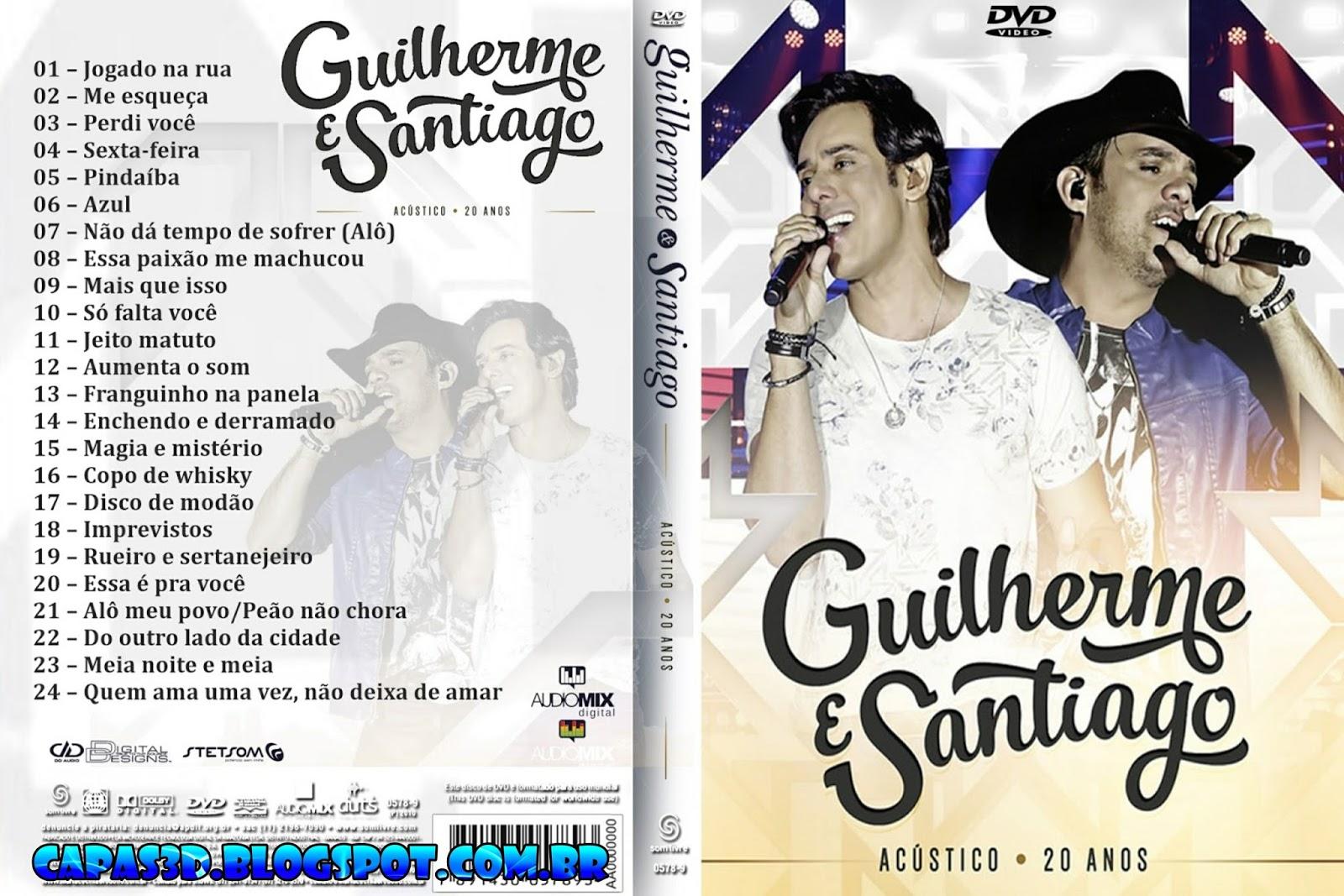 Download Guilherme & Santiago 20 Anos Acústico DVDRip + DVD-R