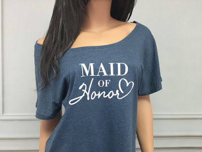 Trendy Maid of Honor for Bridal Party