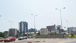 Bonanjo, un quartier de Douala