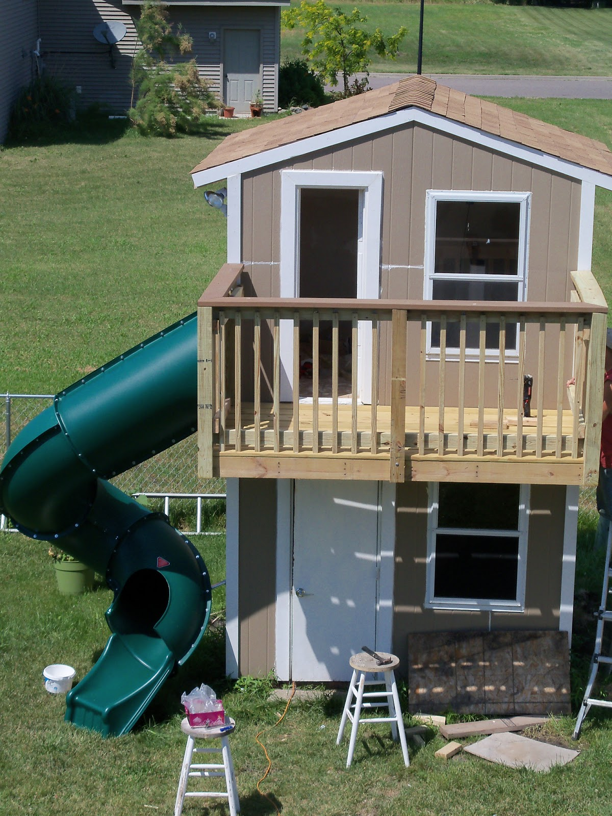 123 Busy Bees: Outdoor Project: Shed/Playhouse Part 5