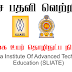 Vacancy In Srilanka Institute Of Advanced   Technological Education (SLIATE)