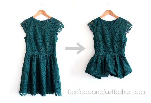 How To: Convert a Dress Into a Top
