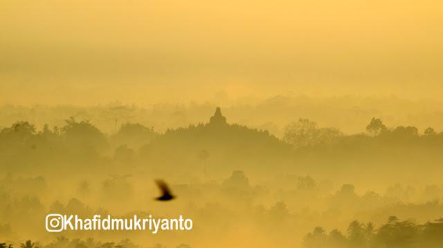 wisata punthuk setumbu, borobudur nirwana sunrise