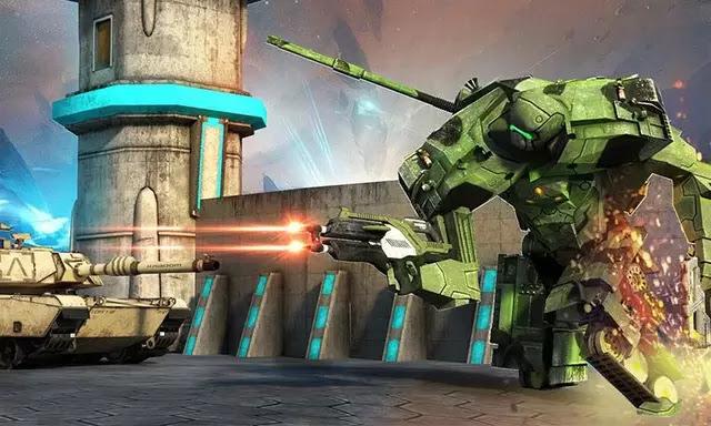 Steel Robot Tank Fight 2017