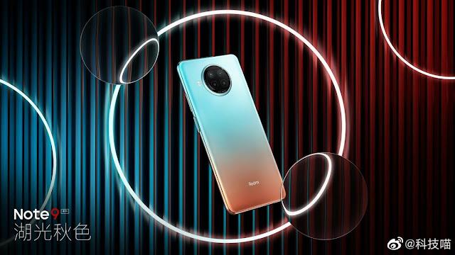 صور جديدة لموبيل Redmi Note 9 5G