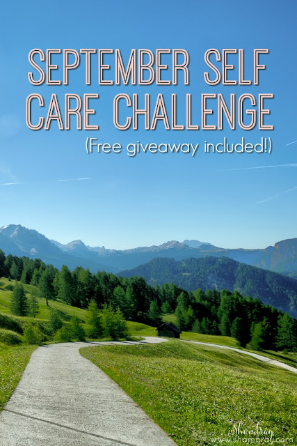 Join us for the September Self Care Challenge and get entered to win an amazing giveaway prize!