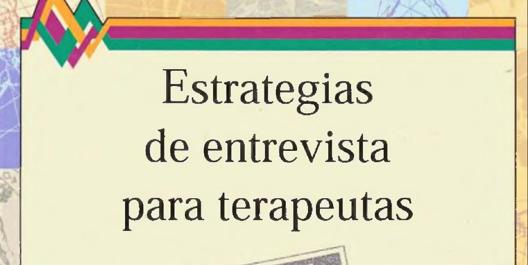 Estrategias de entrevista para terapeutas. PDF