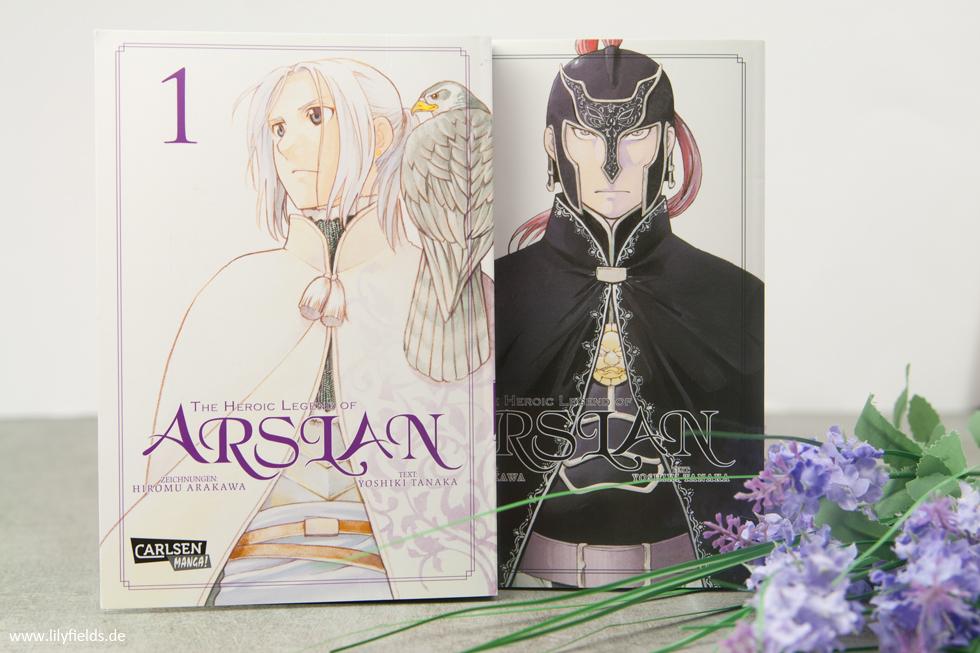The Heroic Legend of Arslan von Yoshiki Tanaka und Hiromu Arakawa