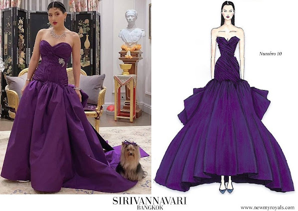 Sirivannavari Bangkok Couture Collection evening dress