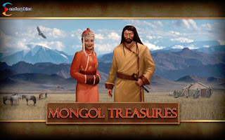 Mongol treasures slot machine game intro