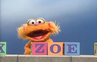 Zeo sings My Name Is Zoe. Sesame Street Best of Friends