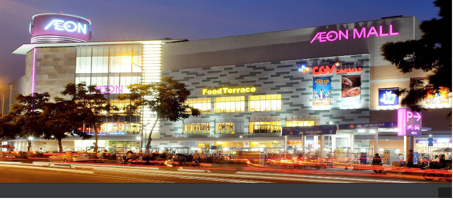 dự án Eco Green nằm sát aeon mall