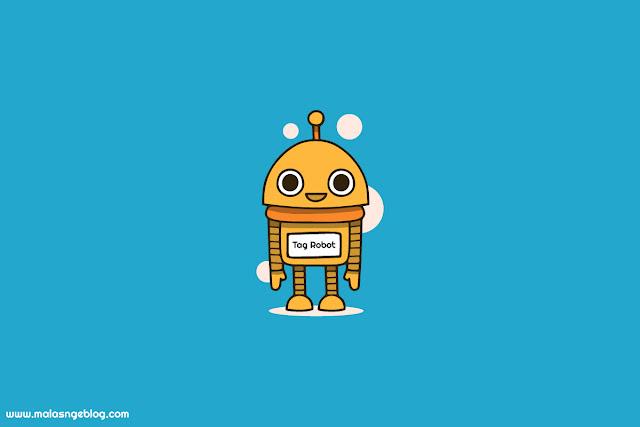 Setting Tag Tajuk Robot Khusus yang Aman di blogger