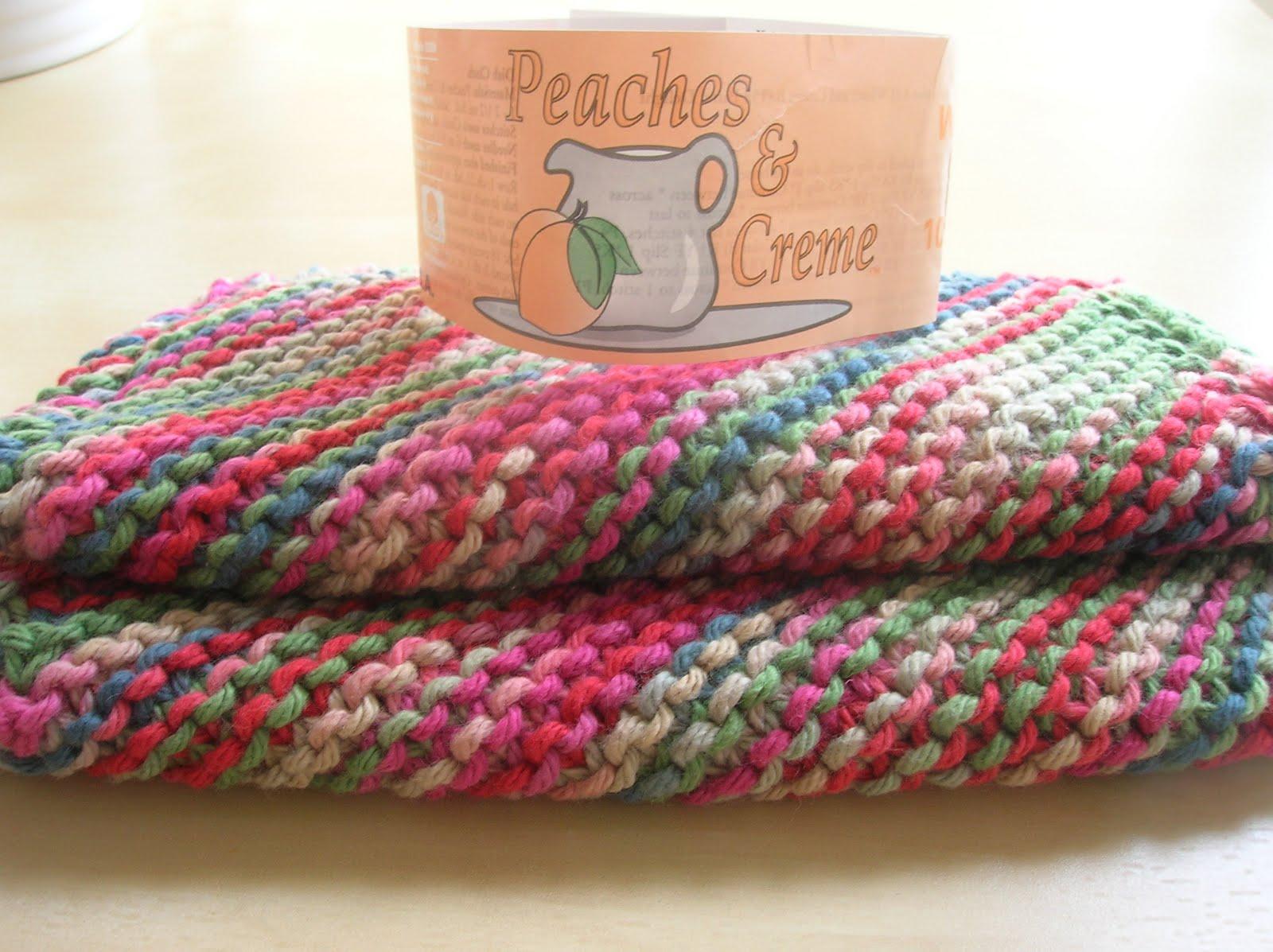 Free Crochet Patterns Peaches And Cream Yarn Crochet