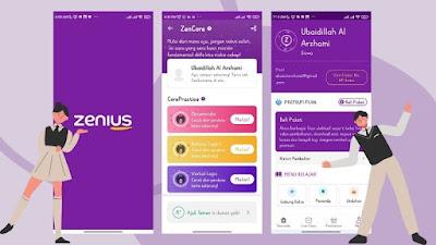 Download aplikasi Zenius untuk Push Rank dengan ZenCore