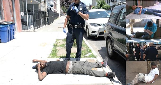 "Veintidós adictos ""zombis""  a la marihuana K-2 colapsan en calles de Brooklyn"