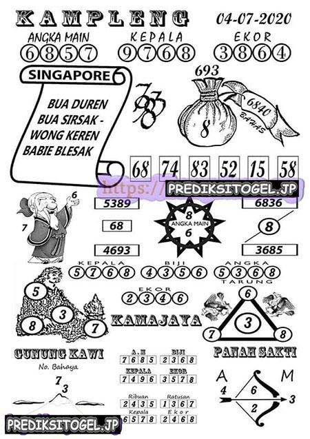Kampleng SGP Singapura Sabtu