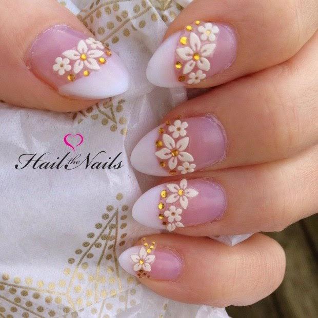 Romantic Wedding Nail Designs Elegant Nail Art Ideas For