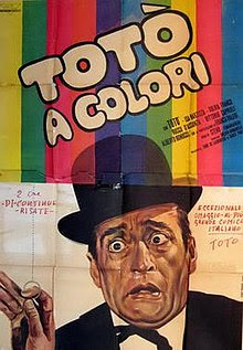 Toto a colori was the first Italian movie to be filmed in colour