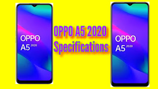 OPPO A5 2020 Specification