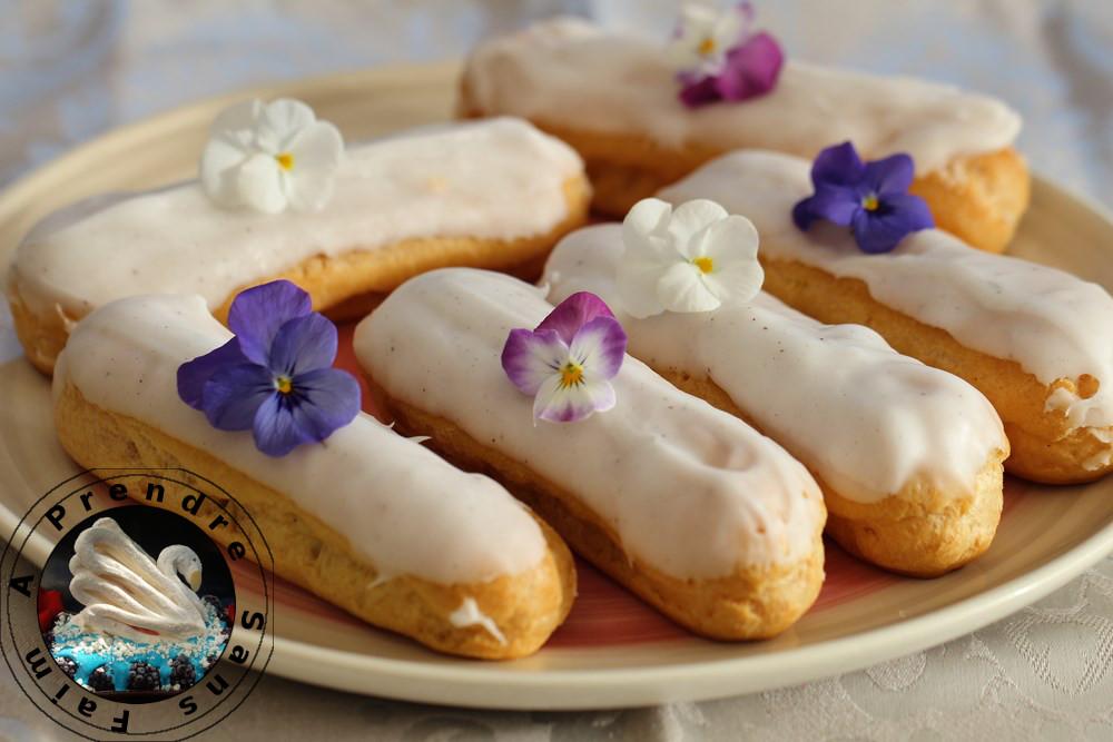Éclair à la vanille façon Ferrandi (pas à pas en photos)