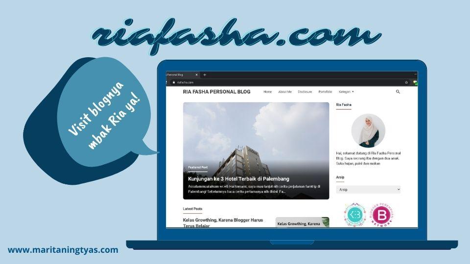 blognya mbak Ria fasha - riafasha.com