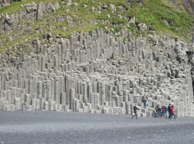 colonne basaltiche Hálsanefshellir a Vik