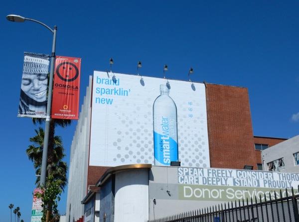 Sparkling Smartwater billboard