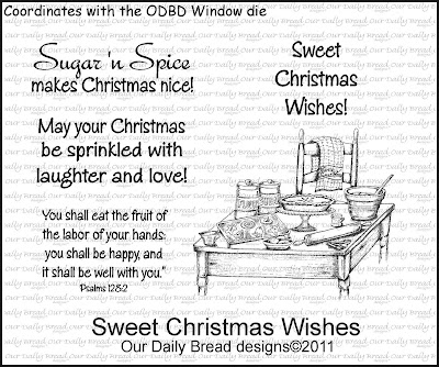 Stamps - Our Daily Bread Designs Sweet Christmas Wishes