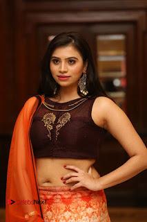 Actress Priyanka Pictures in Half Saree at Apartment Movie Audio Launch  0057.JPG