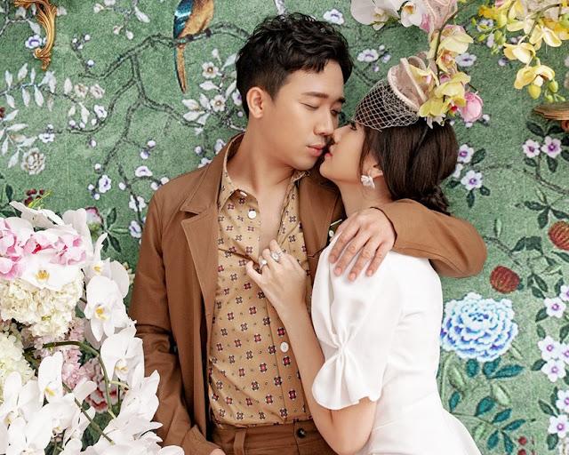 Trấn Thành làm việc 'quên giờ giấc' khiến Hari Won xót xa