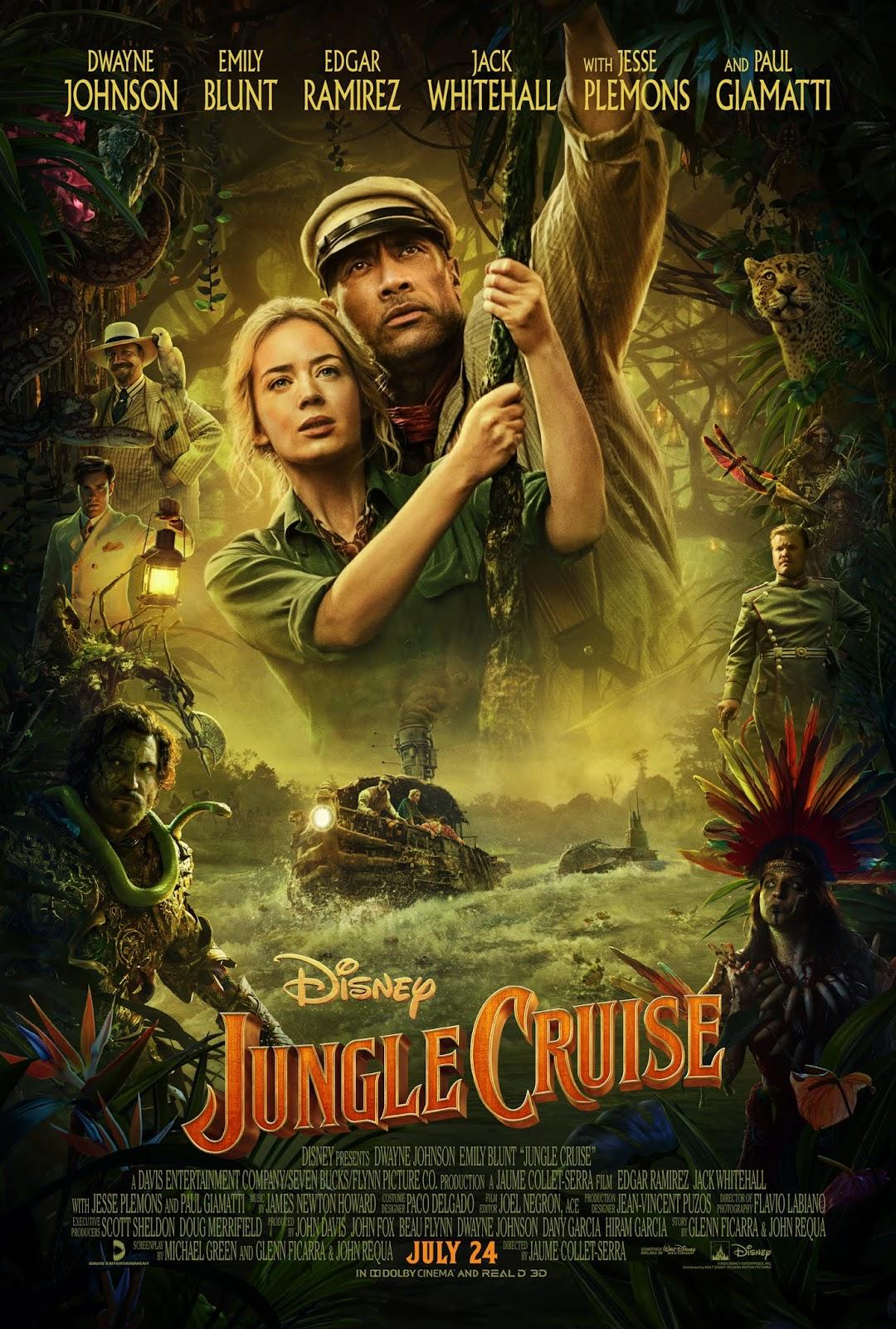 Xem Phim Jungle Cruise: Thám Hiểm Rừng Xanh - Jungle Cruise Full Vietsub | Thuyết Minh HD Online