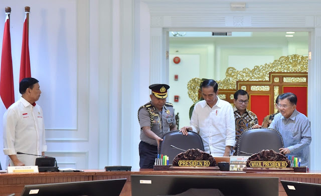 Jokowi: Terorisme Harus Dihadapi dengan Cara Luar Biasa