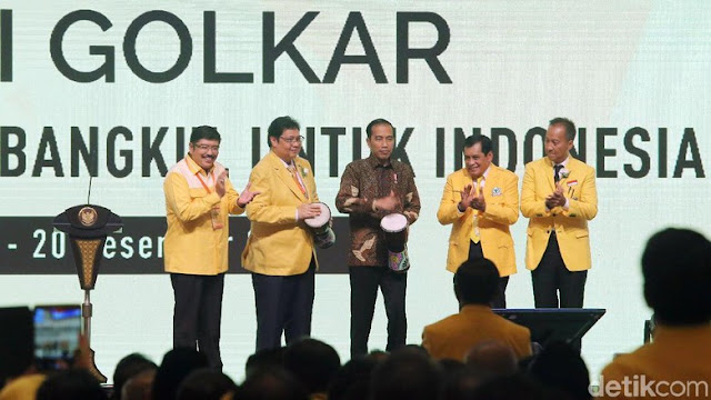 Tepis Cak Imin, Airlangga Bantah Pertimbangkan Usung Selain Jokowi