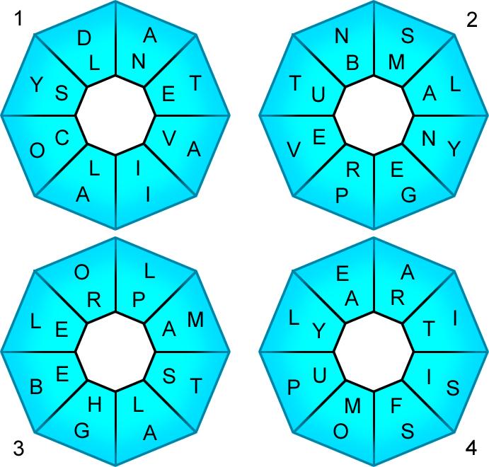 Redhead64's Obscure Puzzle Blog!: PUZZLE #181: Central Scramble