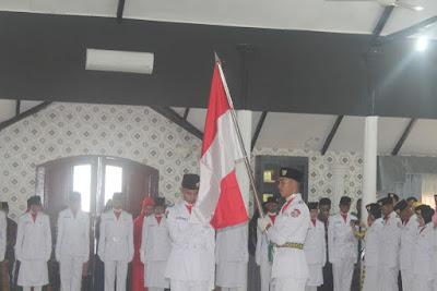 Kakankemenag Tanjungbalai Hadiri Acara Pengukuhan Paskibraka