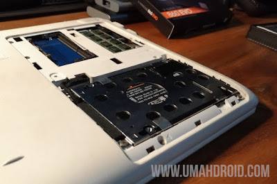 Mengganti HDD ke SSD Laptop dengan Mudah