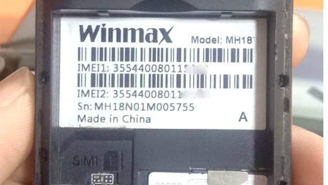 Winmax MH18 Flash File