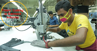 Fabric cutting in Garment Industry
