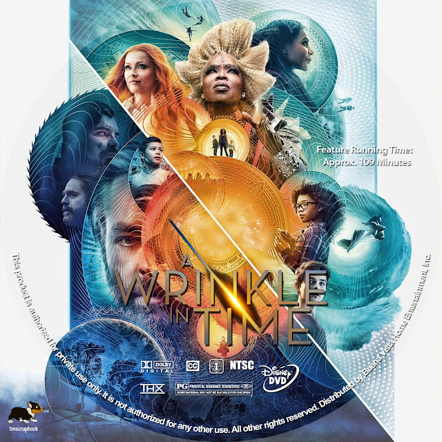 A Wrinkle in Time DVD Label