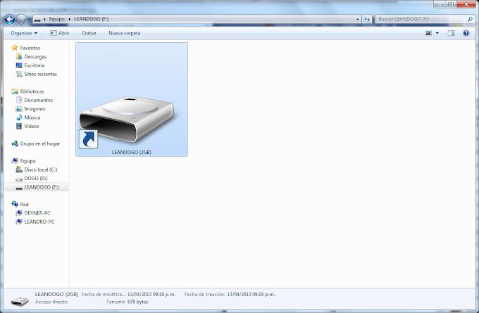 Basmi Permanen Virus Shortcut di FlashDisk menggunakan CMD