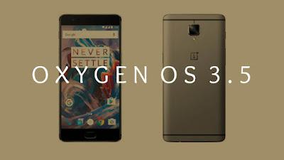 One Plus 3 Oxygen OS 3.5