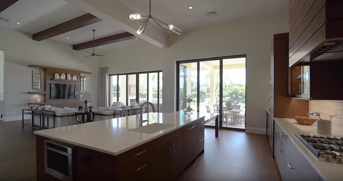 34 Photos vs. 368 Warwick Way, Naples, FL Luxury Home Interior Design Tour