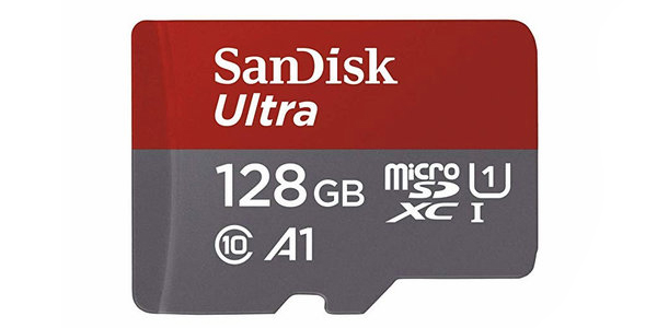 Get the SanDisk Ultra 128GB microSD card for only $18 on Amazon