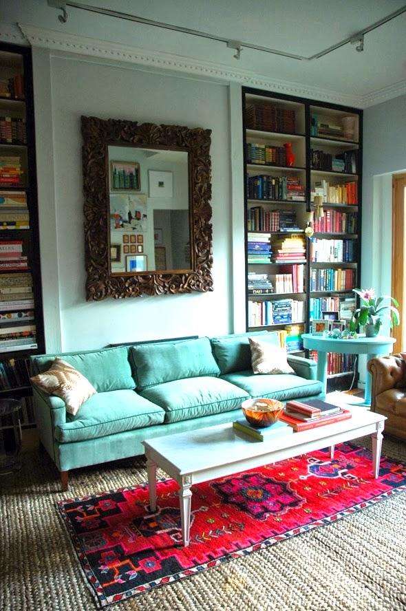 street scene vintage home decor trends layered rugs. Black Bedroom Furniture Sets. Home Design Ideas