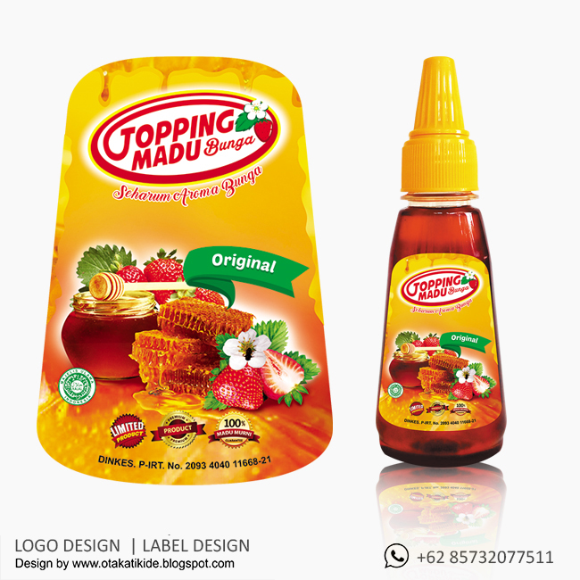 Label Botol Madujasa Desain Kemasan Produk Ukm, Logo