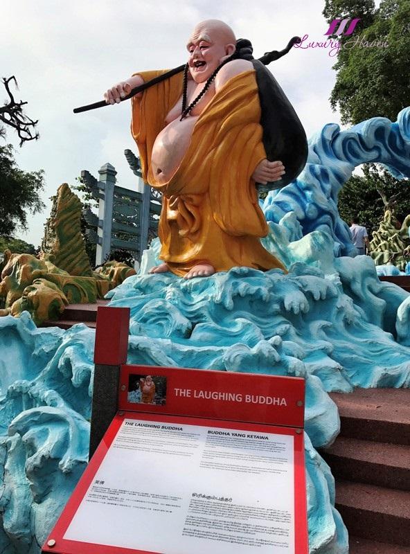 haw par villa laughing buddha bu dai luo han