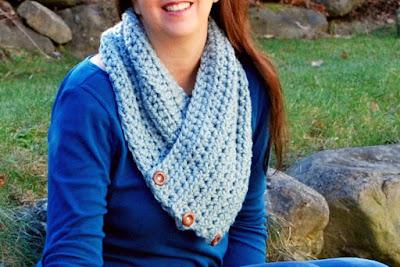 Kelli Cowl FREE crochet pattern by Kaleidoscope Art&Gifts