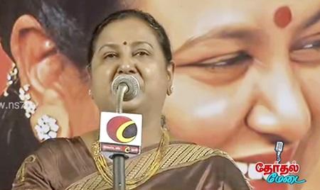 Premalatha Vijayakanth Speech 14-05-2016 Therthal Medai